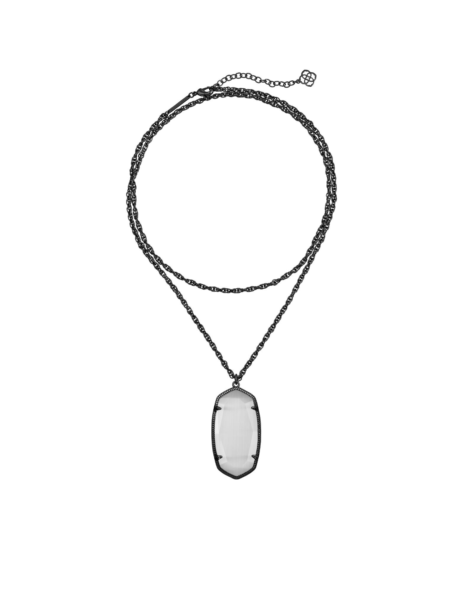 Rae gunmetal necklace in slate gingerus wish list pinterest
