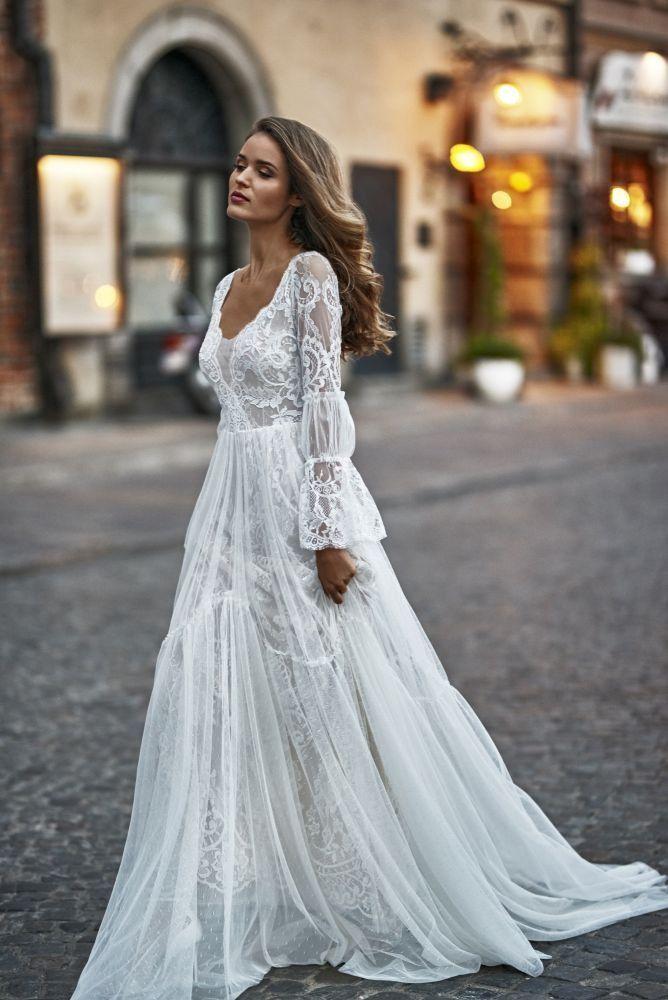 Kleid SALICE von Sylwia Kopczyńska - alle-brautkleider.de #Bachelorette