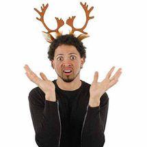 Walmart Reindeer Antlers Headband Adult Halloween Accessory