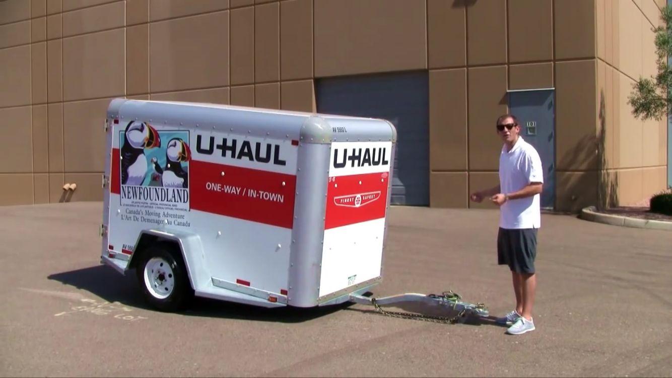 U Haul Cargo Trailer Towing Moving Trailers Cargo Trailers