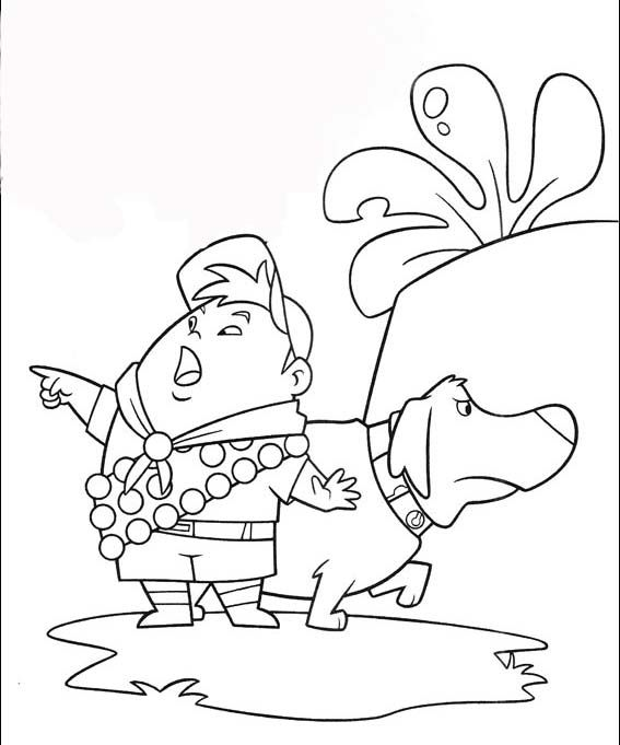 disney movies coloring pages Up Coloring Pages Disney Movie Up