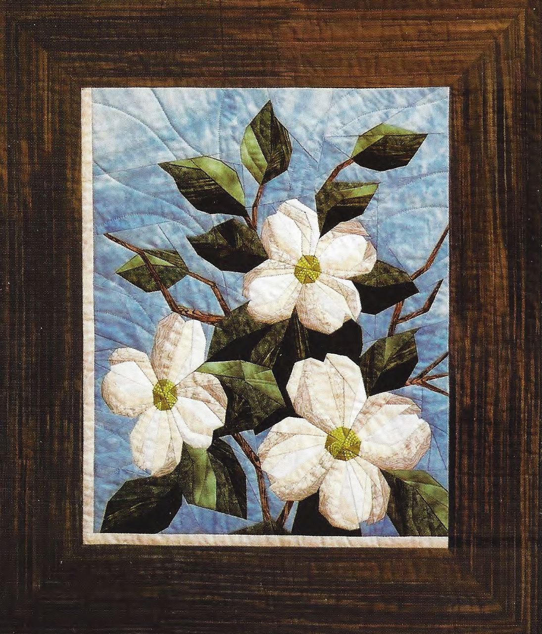 Dogwood Foundation Paper Piecing Pattern 25 X 29 Quilt Plus 2
