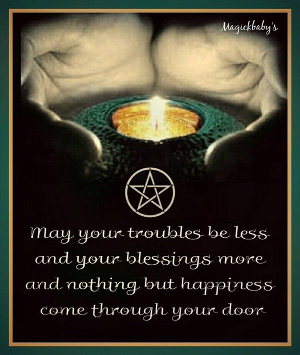 May your troubles be less..