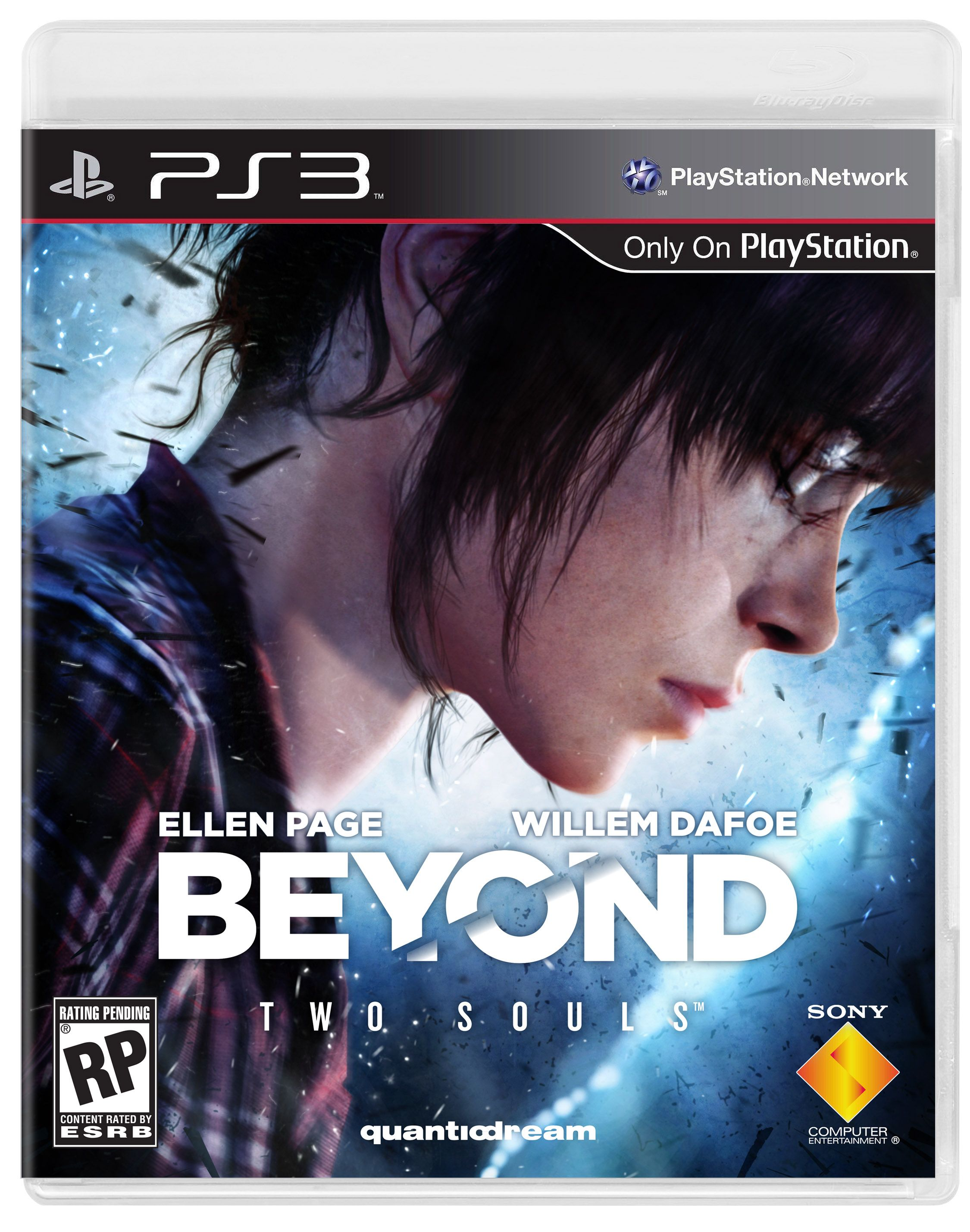 Beyond: Two Souls' PS3 Box Art - IGN