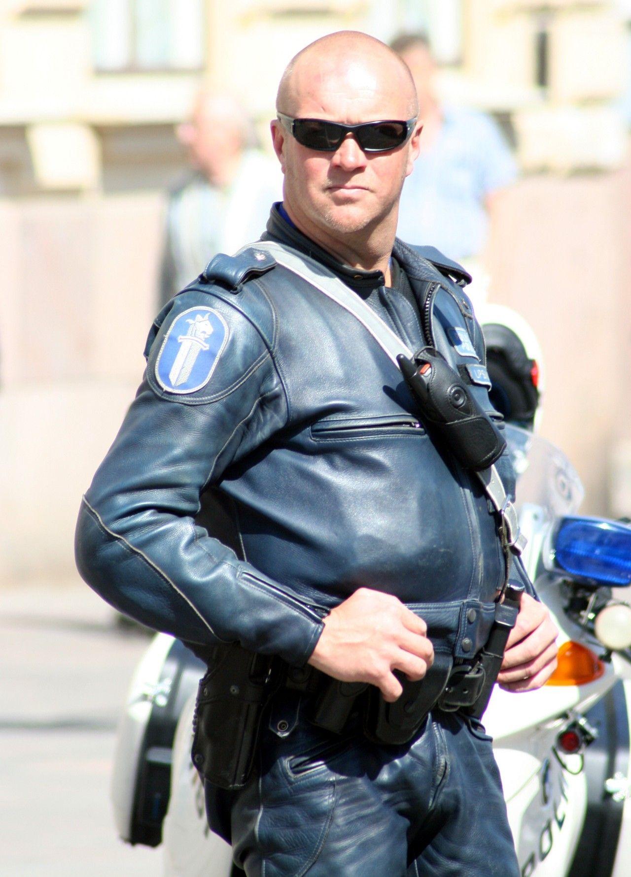 Finnish motorcycle leather cop (mit Bildern) Männer in