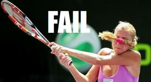 Tennis Fail Tennis Funny Funny Sports Pictures Sports Fails