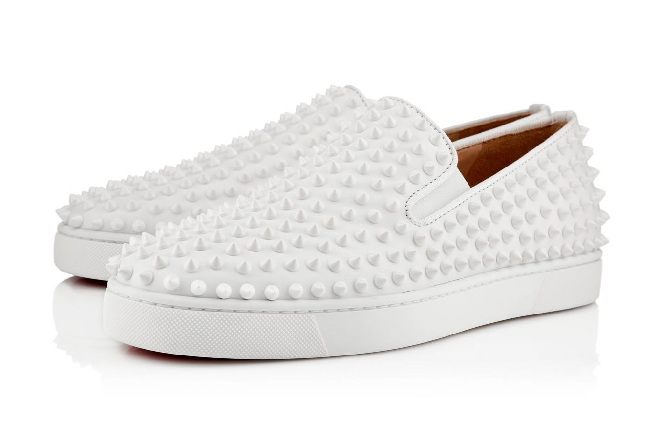 a82d003f252b Christian Louboutin 2013 Spring Roller-Boat Flat White in 2019 ...