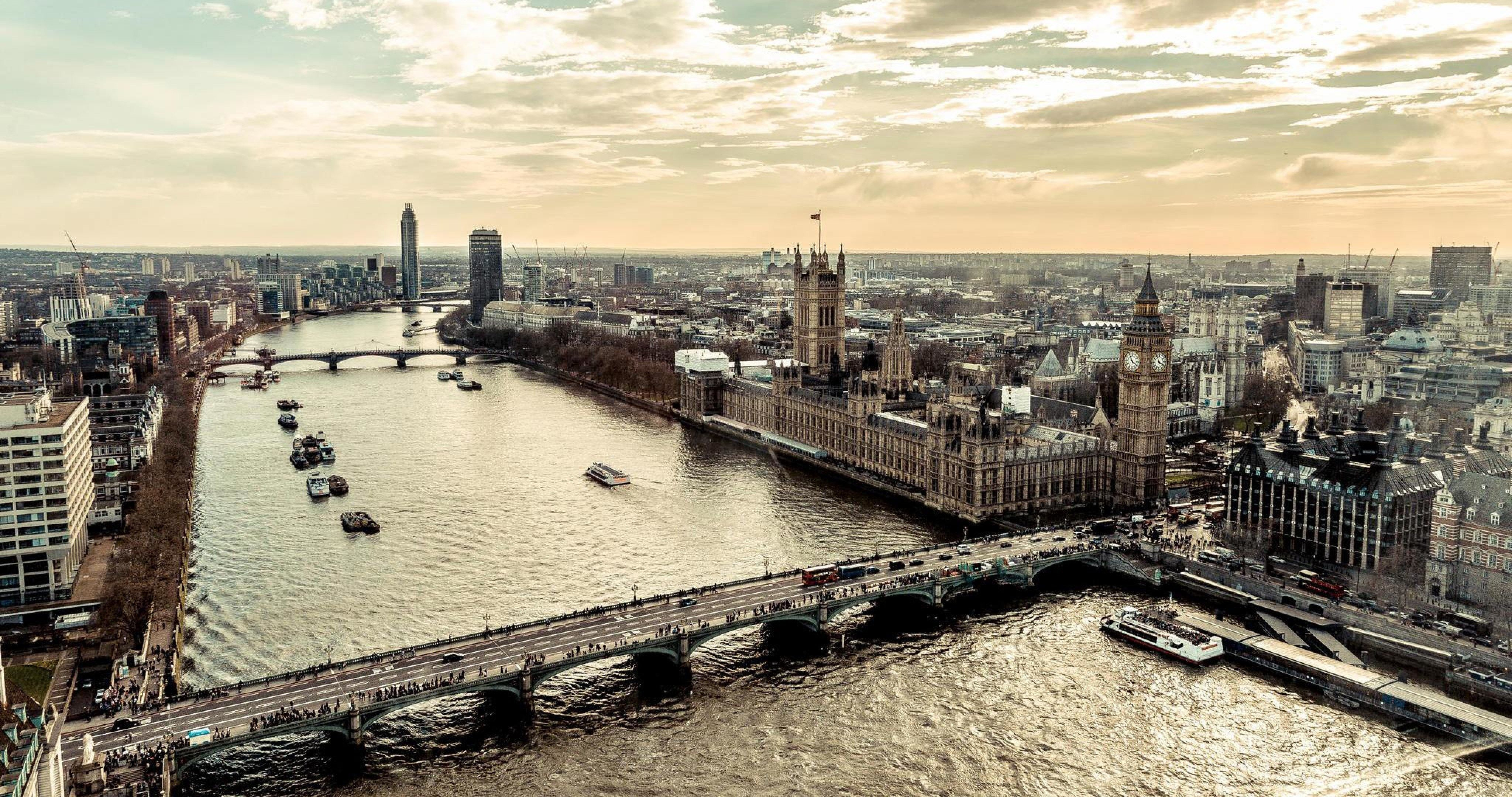 London View From Above 4k Ultra Hd Wallpaper Ololoshenka
