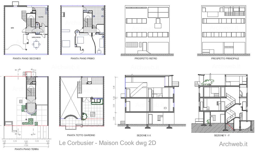 Maison cook image from for Arredi design dwg