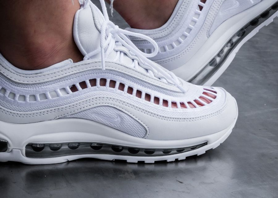 basket Nike Womens Air Max 97 UL 17 SI White avec des