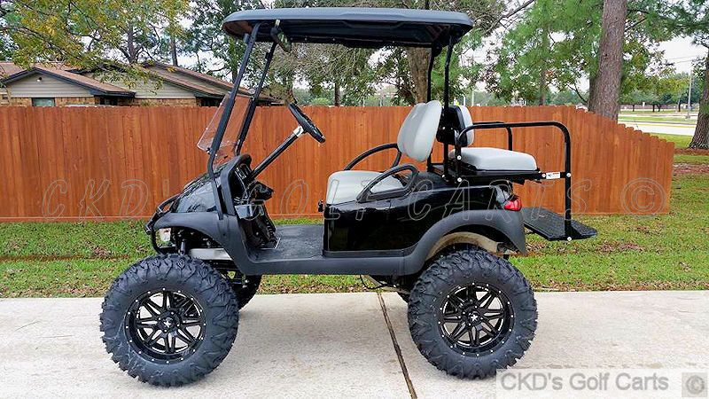 Monster Lifted Customized Club Car Precedent Golf Cart By Ckd Golf