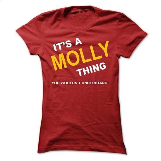 Its A Molly Thing - #hoodie for teens #fall hoodie. GET YOURS => https://www.sunfrog.com/Names/Its-A-Molly-Thing-ynytk-Ladies.html?68278