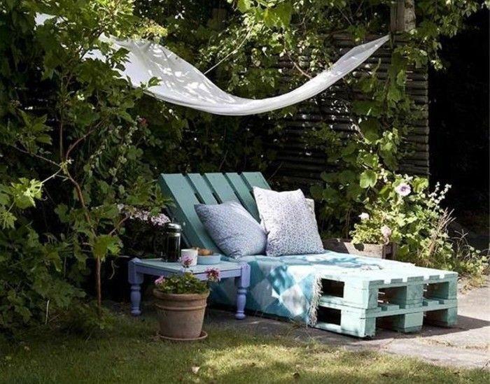 Meuble De Jardin Ou Fabriquer Transat En Bois Pas Cher Et Chaise Longue