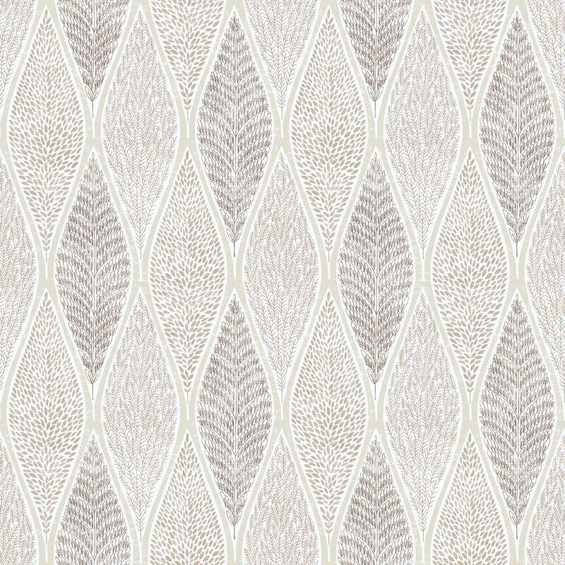 Roderick 10m x 53cm Matte Nonpasted Wallpaper Roll in