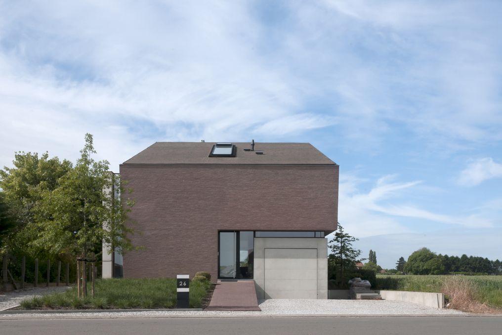 Vande Moortel Facing bricks linea7 8012 - combination Clay pavers Septima Claret