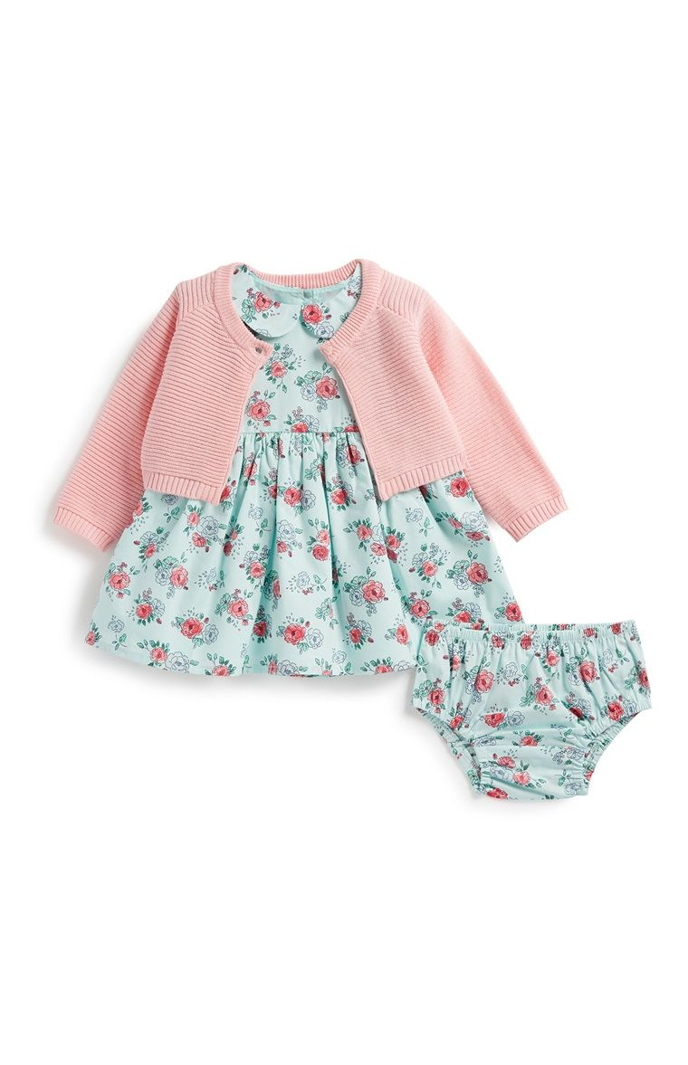 997aed9a9f12 Primark - Newborn Baby Girl 3Pc Outfit Set Having A Baby, Baby Girl Newborn,