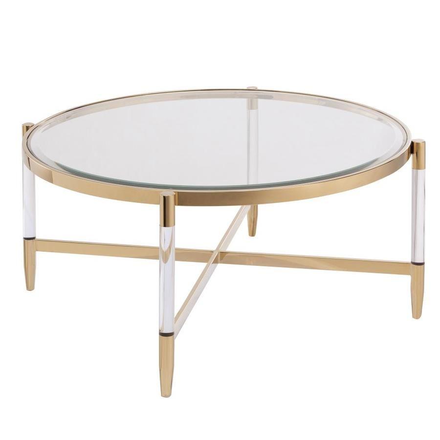 Boston Loft Furnishings Bihet Clear Glass Coffee Table Lowes Com In 2021 Coffee Table Art Deco Coffee Table Glass Coffee Table [ 900 x 900 Pixel ]