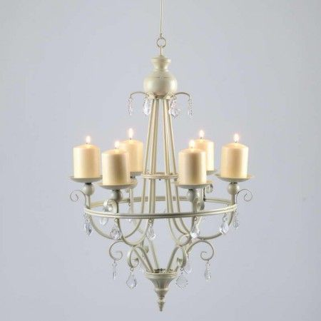ideas non electric candle chandeliers