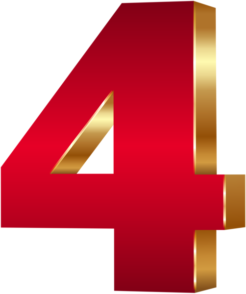 Free Download Digit 4 Png Transparent Background Four Png Image It Can Be Used In Making White Board Animations Writing Transparent Png Alphabet And Numbers
