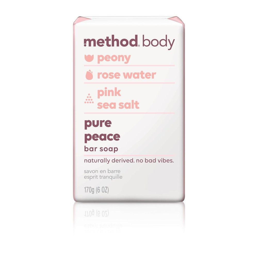 Method Bar Soap Pure Peace - 6oz