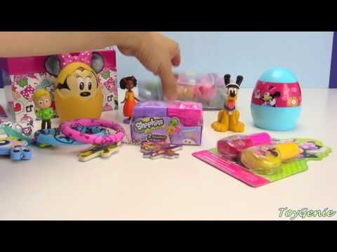 Minnie Mouse Jewelry Box and Surprises with Toy Genie Whats inside