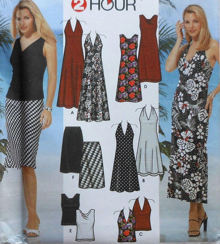 Womens dress top and skirt sewing pattern sewing patterns womens dress top and skirt sewing pattern jeuxipadfo Choice Image