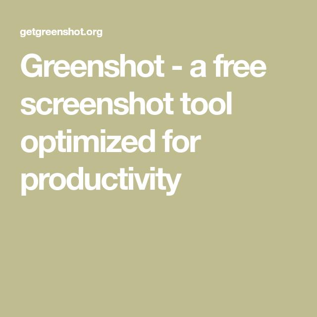 Greenshot - a free screenshot tool optimized for ...