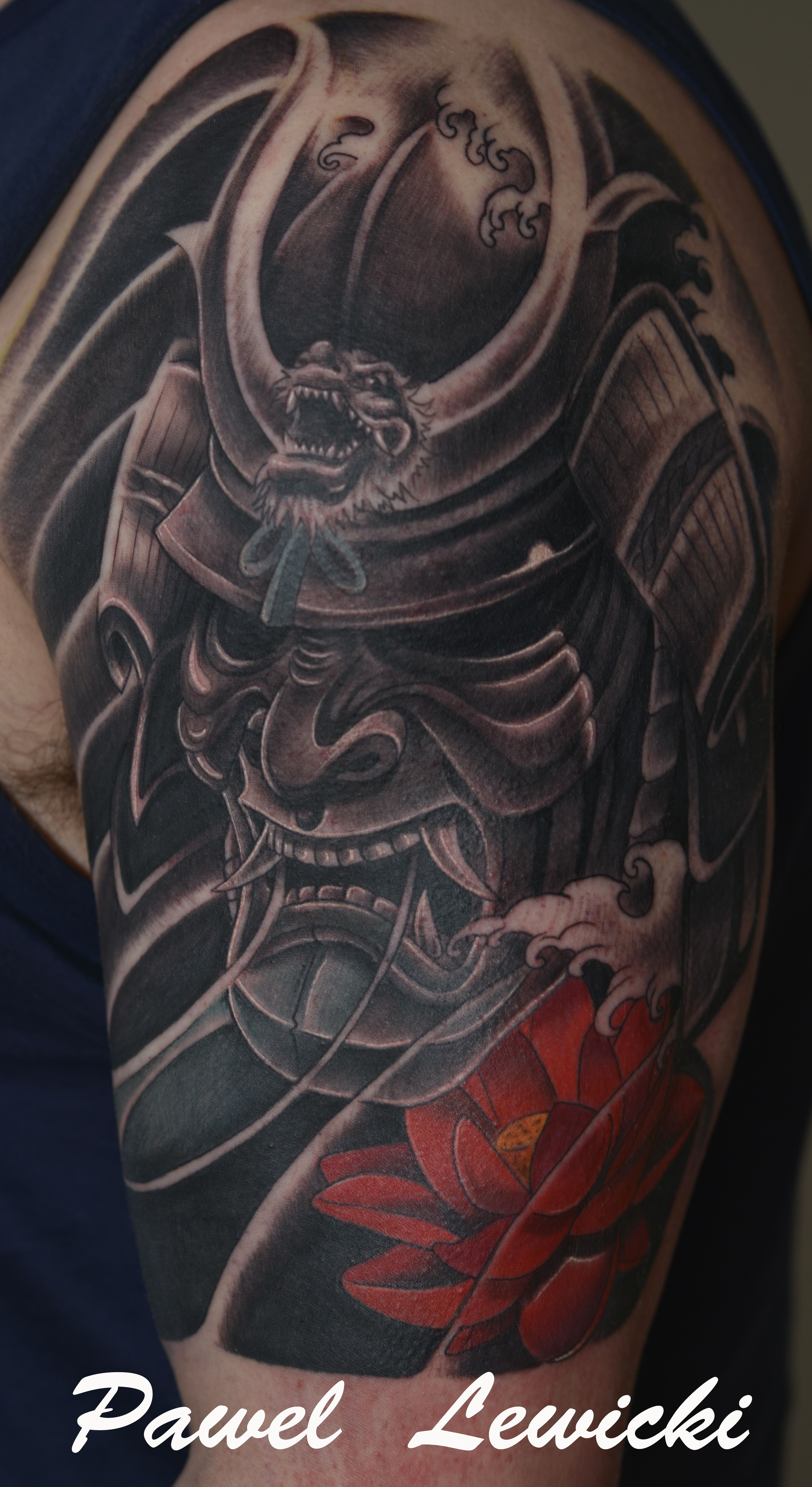 #Japanese #warrior #mask | tatuering ny | Pinterest ...