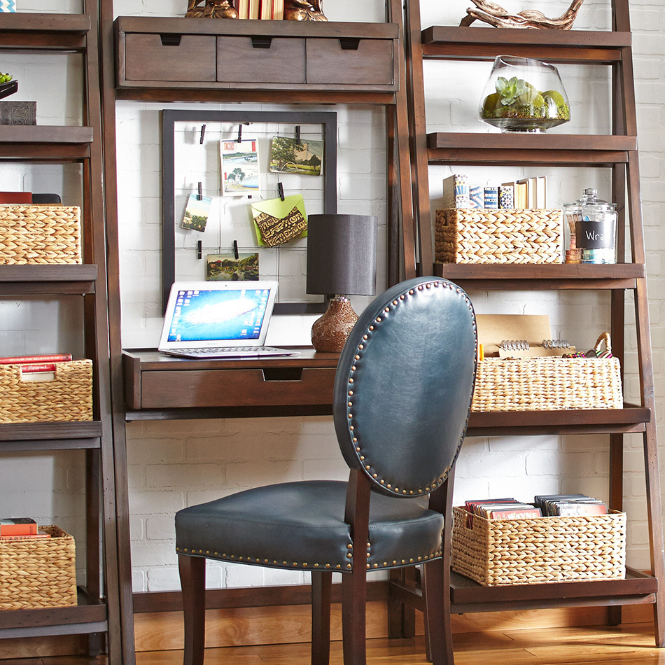 How To Update Your House From The Tuscan Brown Trend: Morgan Tuscan Brown Tall Shelf