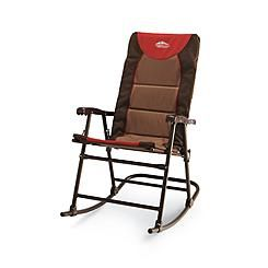 Folding Outdoor Rocking Chair Steel Frame Ideal For Camping Garden Picnic  Cheap