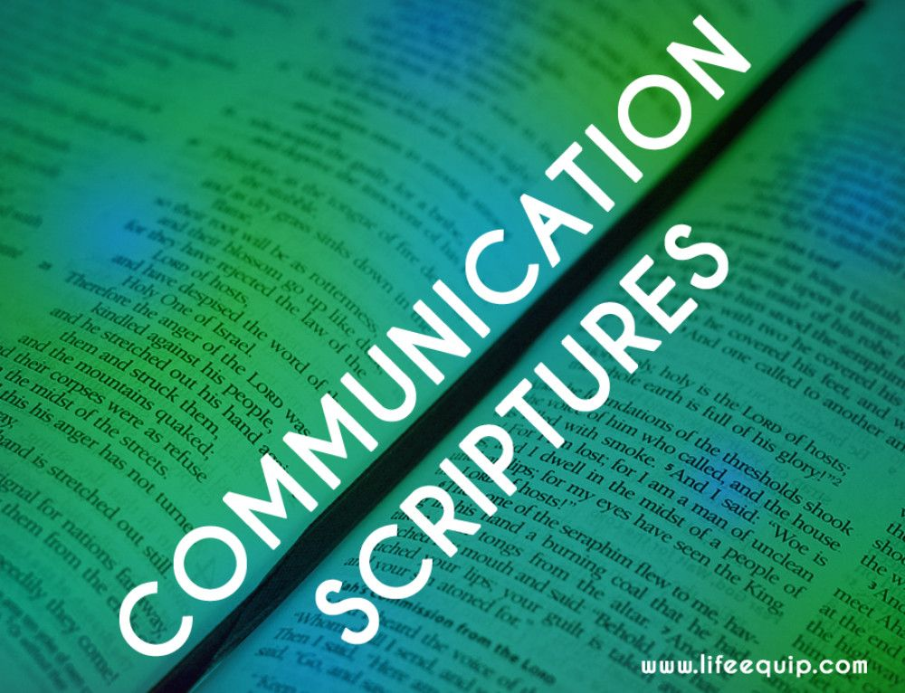Pastoral Support: 14 Quick Scriptures About Communication