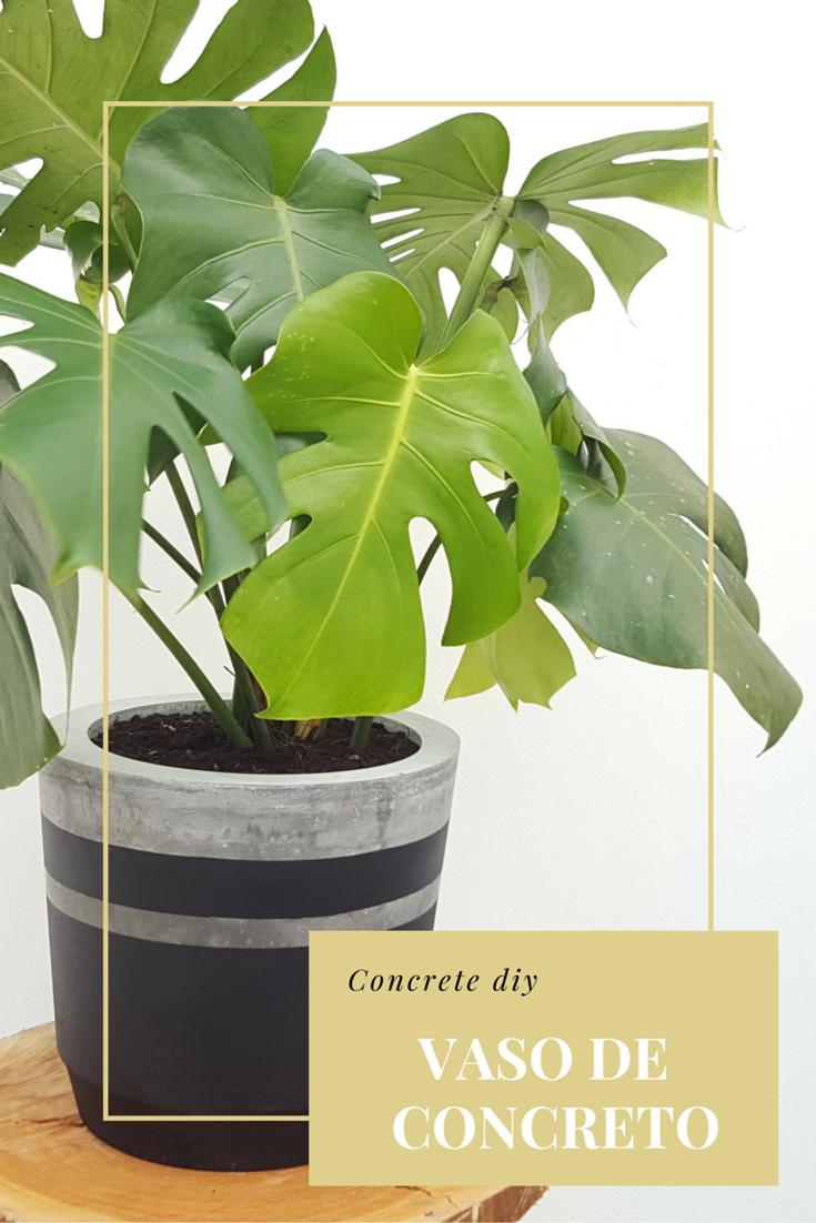 Aprenda a fazer um vaso de concreto, utilizando dois baldes de plástico.                                                                                                                                                      Mais