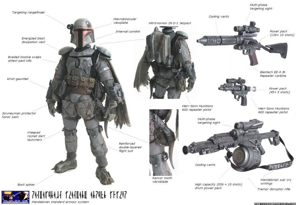 """Warriors of the Mandalore"" wicked 12"" Boba Fett"