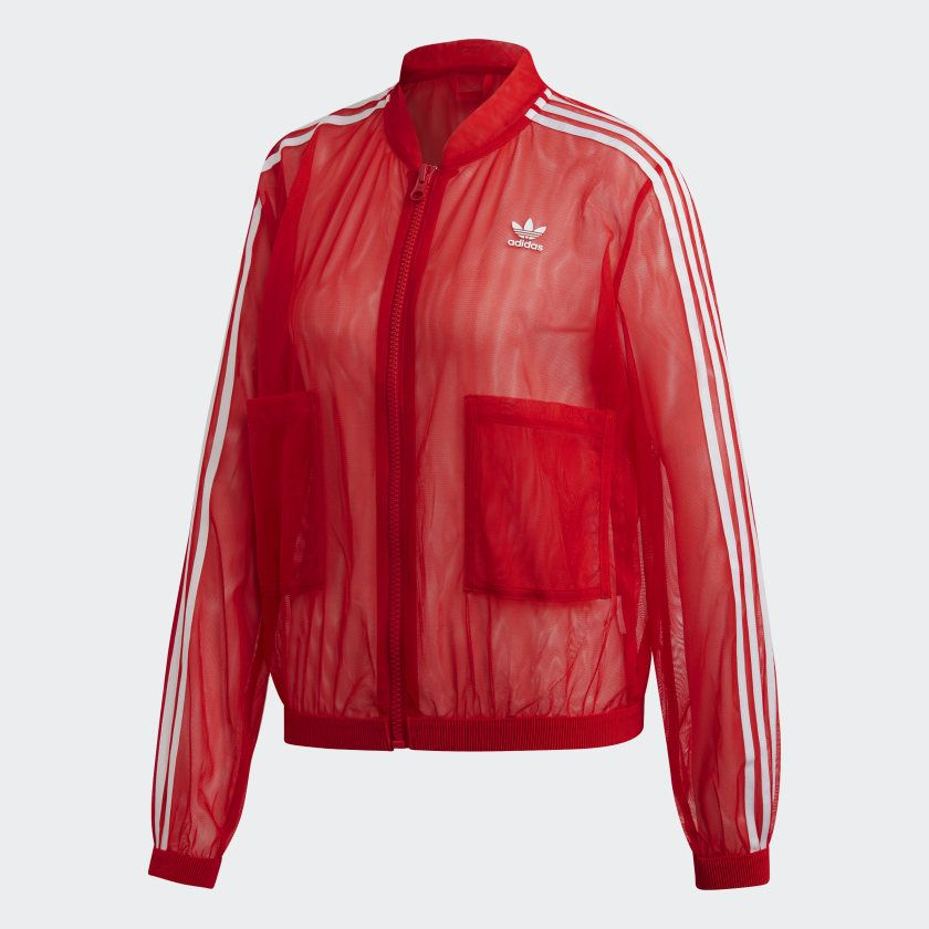 Trainingsjack Red DW3890 | Red adidas outfit, Red adidas ...