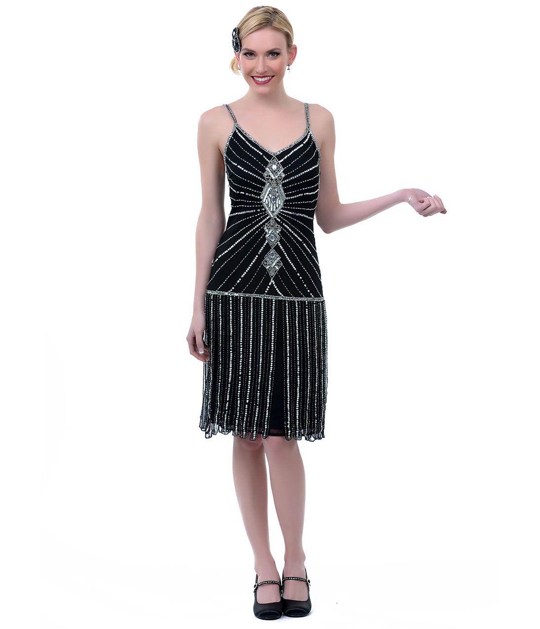 Vintage Flapper Prom Dresses
