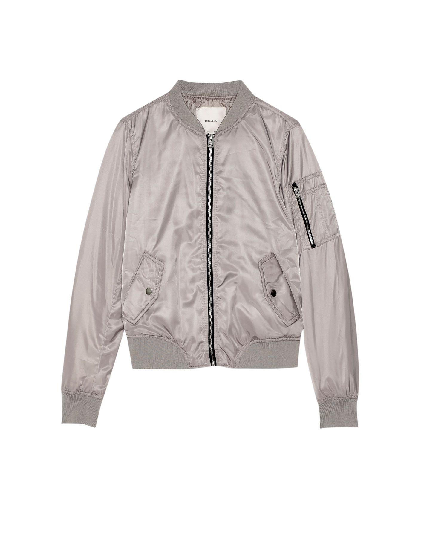 Chaqueta bomber mujer pull and bear
