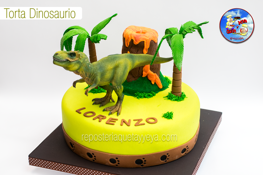 Torta Dinosaurio - Dinosaur Cake