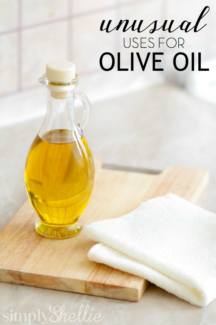 Olive oil isn't just for cooking and salad dressing. There are tons of unusual uses for olive oil outside the kitchen.