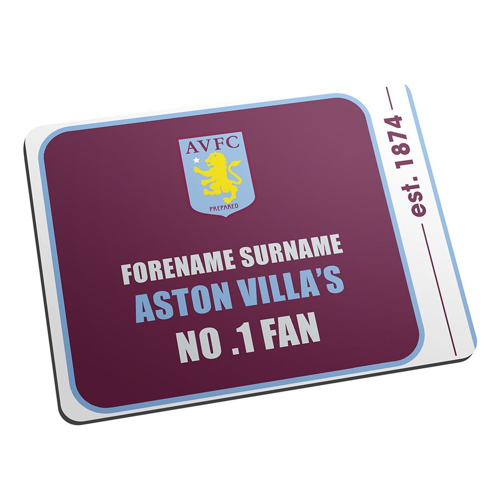 I Just Love It Personalised Aston Villa Fan Mouse Mat - No 1 Fan Personalised Aston Villa Fan Mouse Mat - No 1 Fan - Gift Details. Do you know a No. 1 Aston Villa fan? In the traditional blue and claret colour scheme this Personalised Aston Villa Fan Mouse Mat - N http://www.MightGet.com/january-2017-11/i-just-love-it-personalised-aston-villa-fan-mouse-mat--no-1-fan.asp