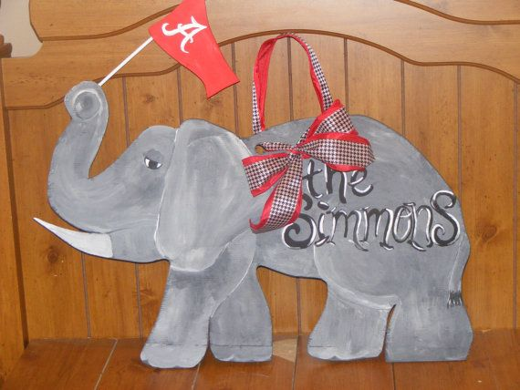 Alabama Crimson Tide Elephant