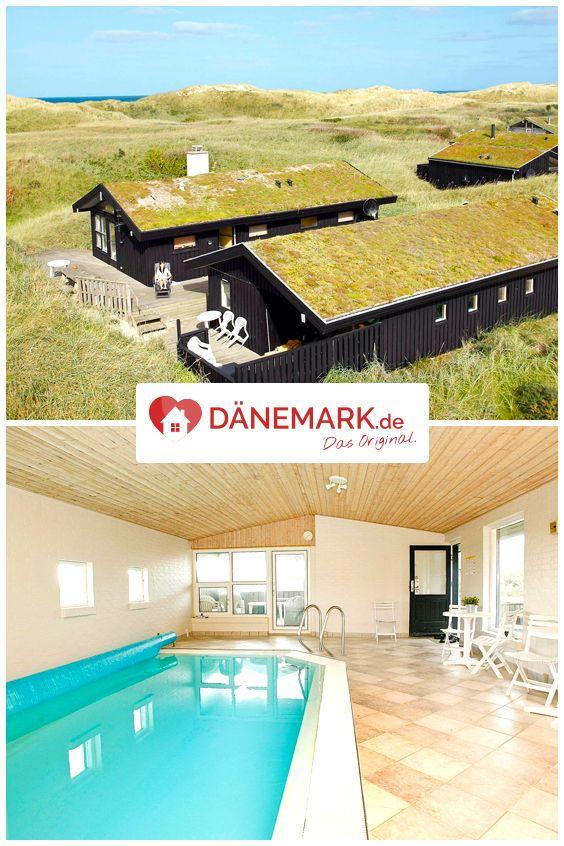 Dieses Ferienhaus mit eigenem Pool steht in erster