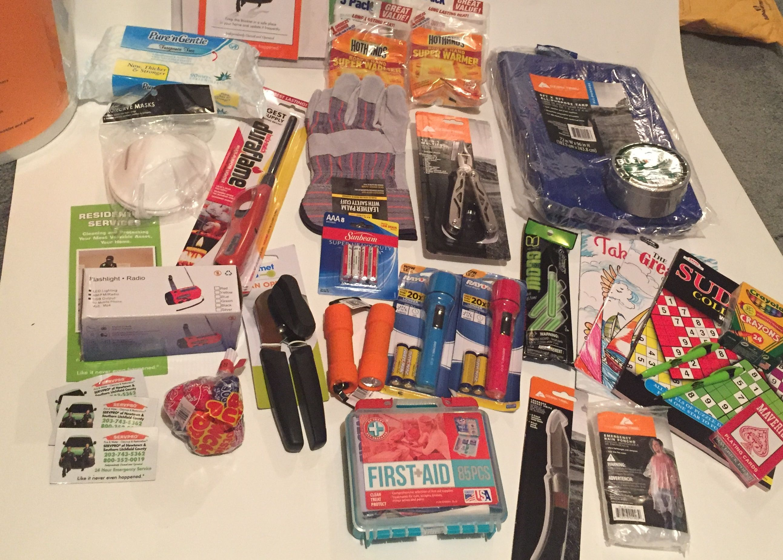 Home Emergency Preparedness Kit Bucket Contents