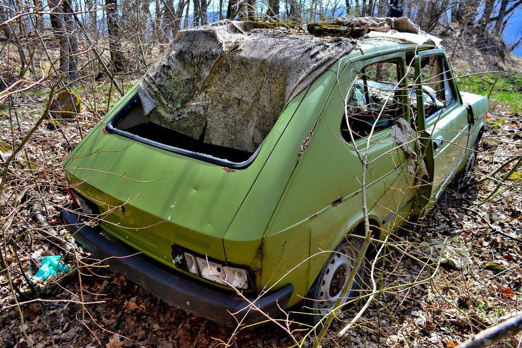 Fiat 127 900 L Fiat Abandoned Cars Vehicles