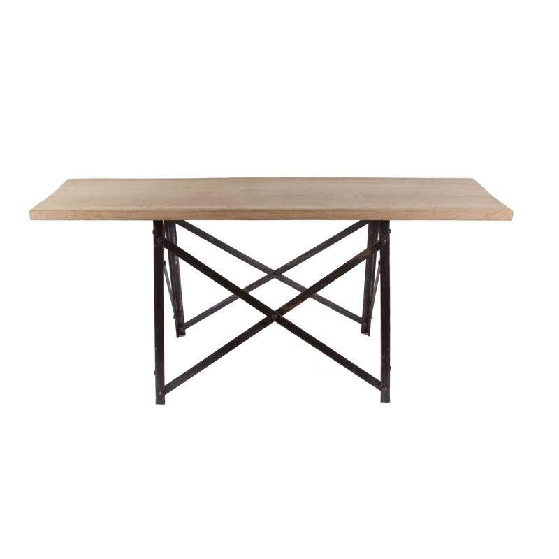 French Narrow Trestle Table