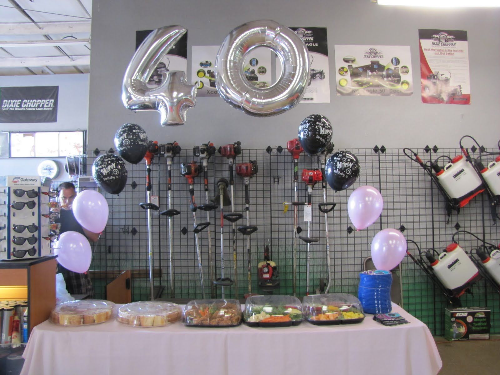 Image Result For 40th Birthday Party Ideas Men