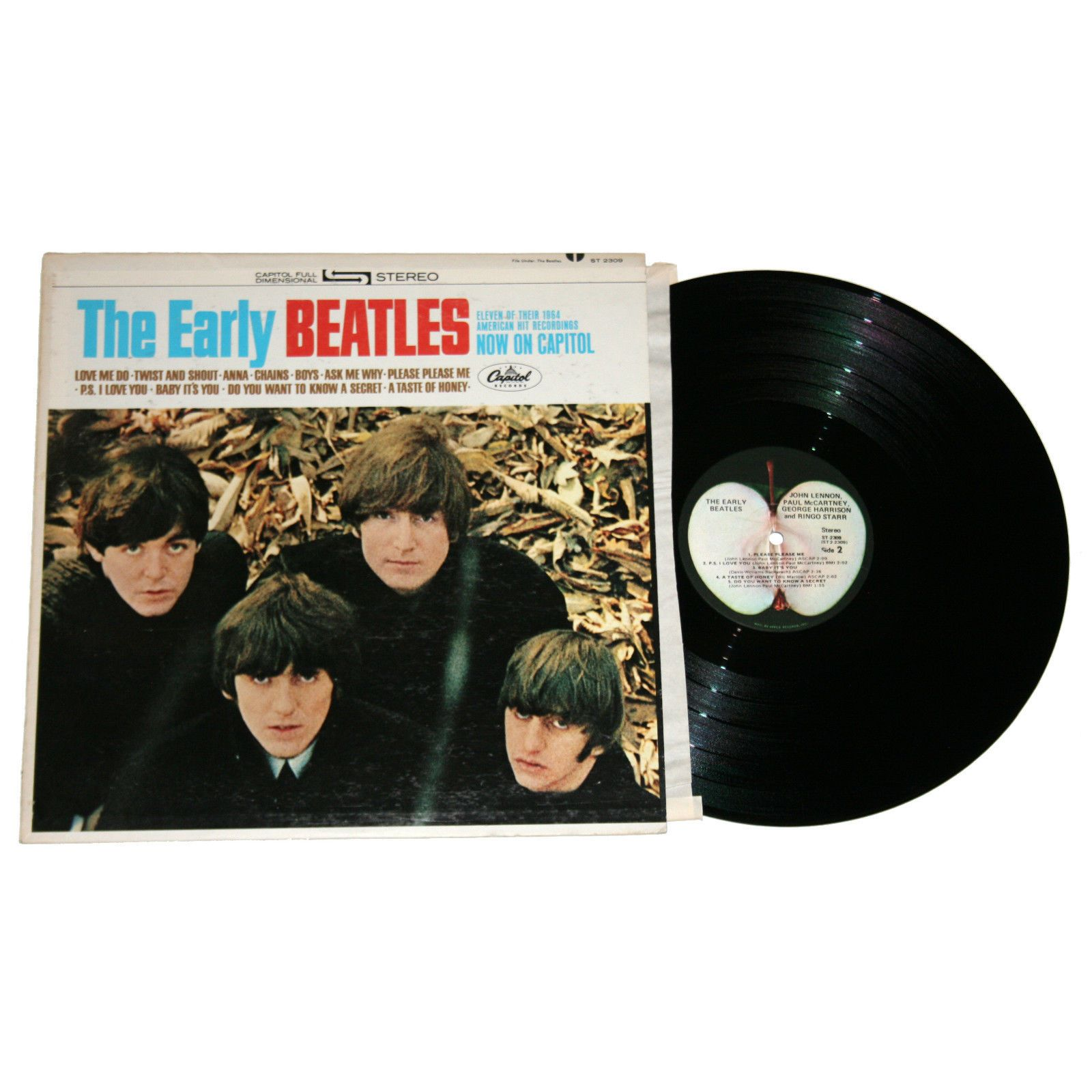 "The Beatles ""The Early Beatles"" St 2309 Vinyl LP Reissue 