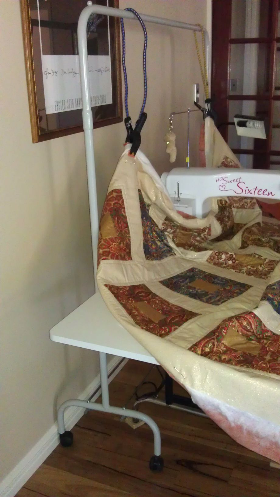 One of the ladies on my quilting forum has designed a system for ...