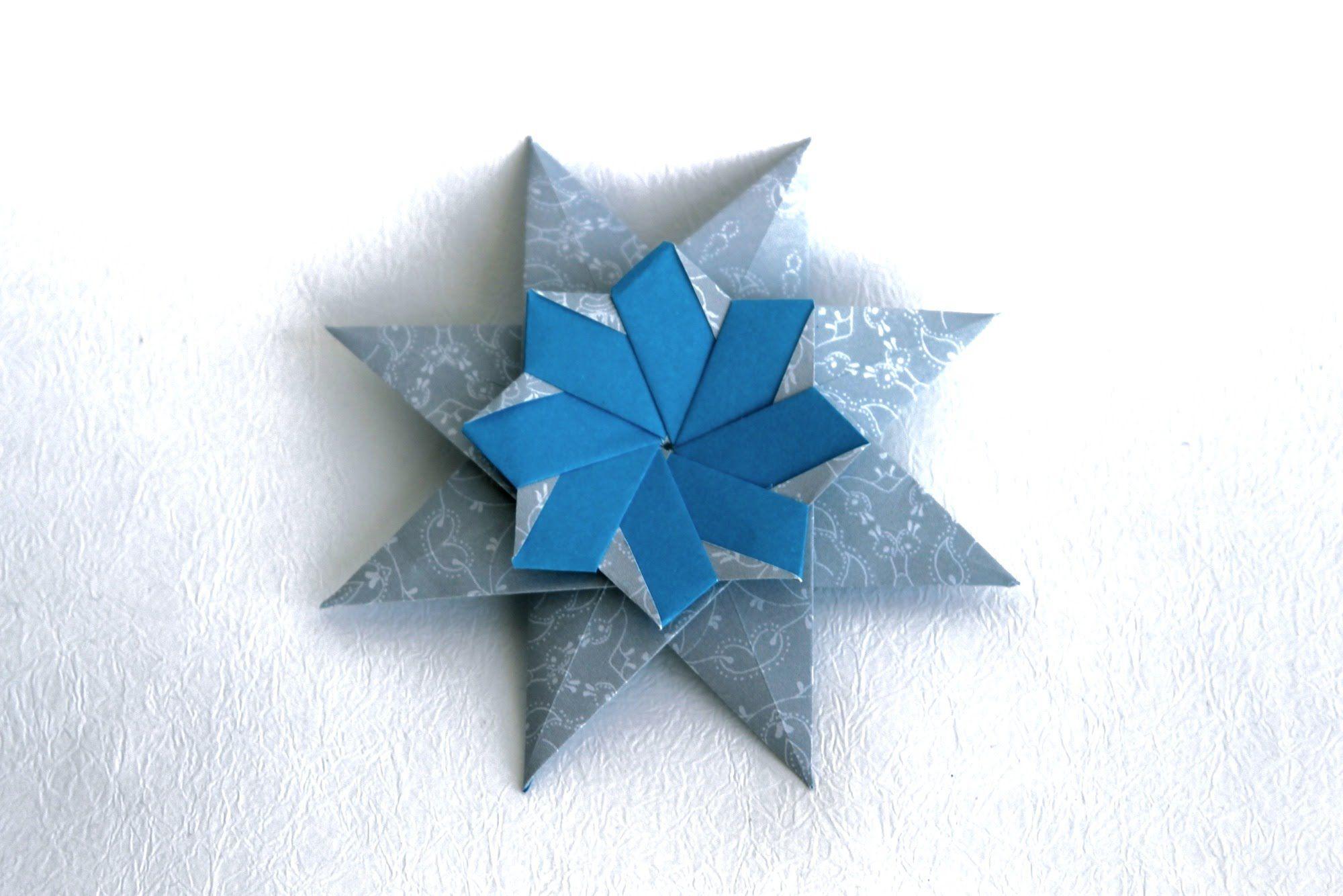 Origami Christmas Star Corona Grande By Maria Sinayskaya Art