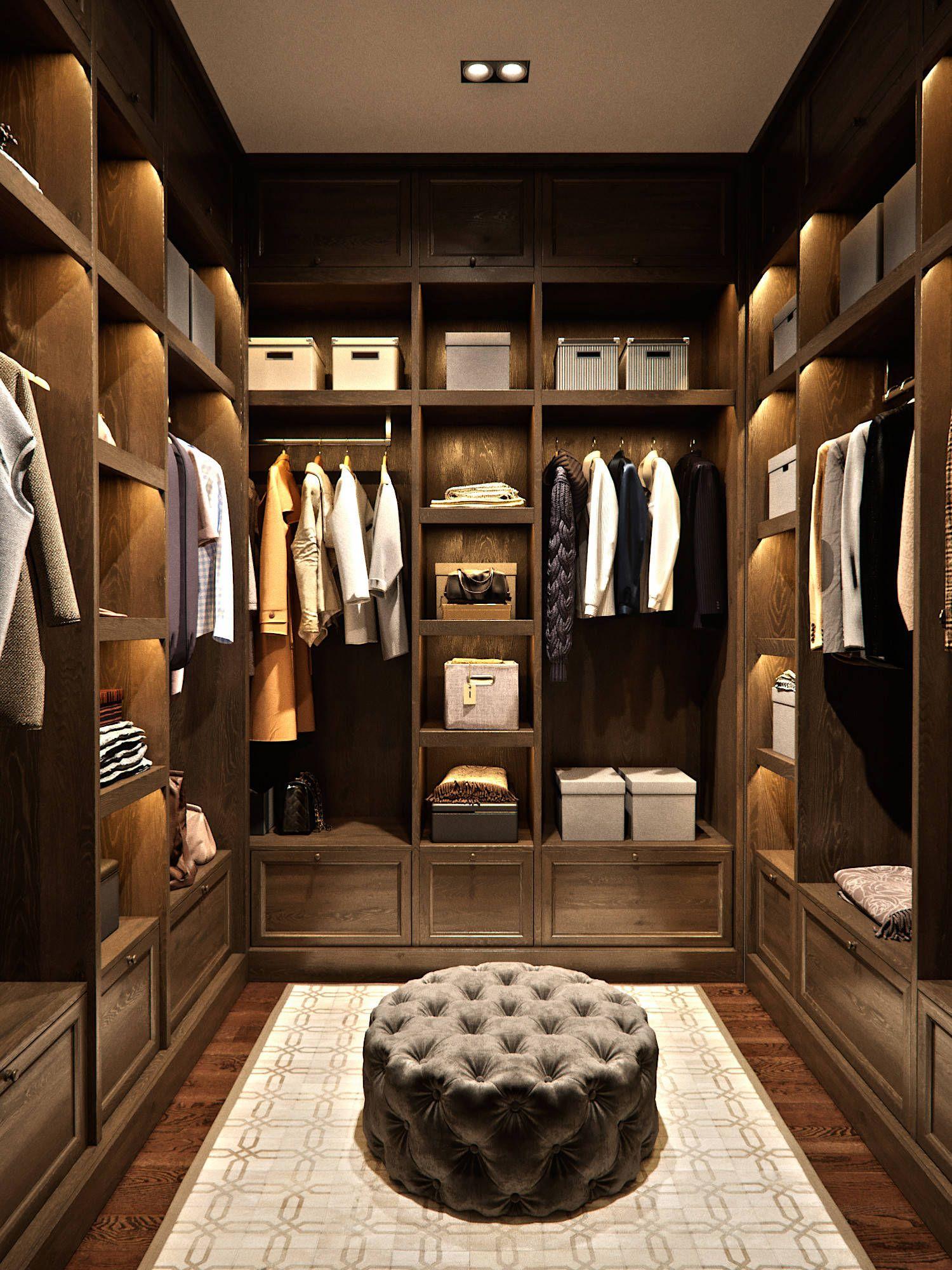 19 Wonderful Walk-In Closets (Photo Gallery)