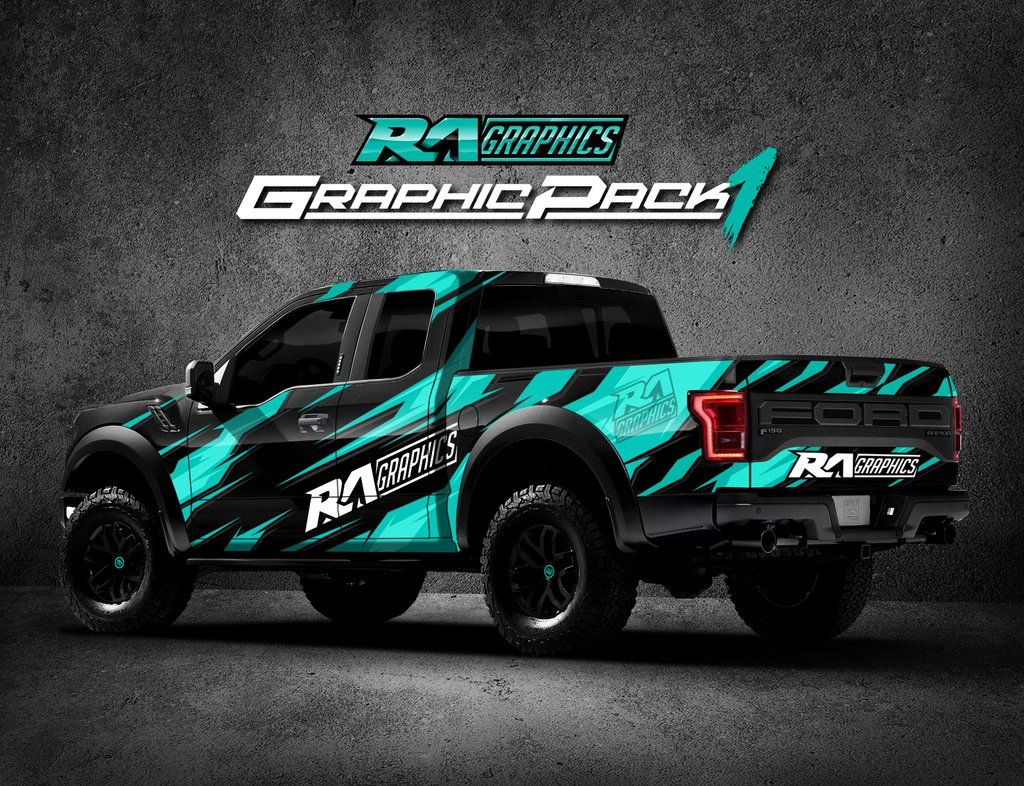 Ra Graphic Pack 1 Truck Graphics Truck Wraps Graphics Car Graphics